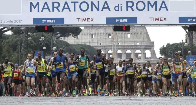 Maratona di Roma 24° edizione